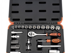 "3/8"" SQ. DR. METRIC SOCKET SET (34 PIECE)"