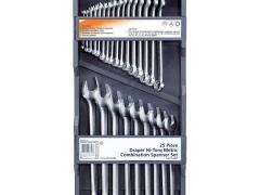 Draper Hi-Torq® Metric Combination Spanner Set (25 Piece)