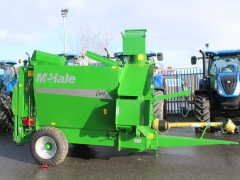Mchale c460 straw blower DEMO