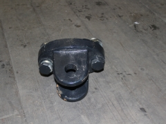 Newholland tow hitch for fan weights
