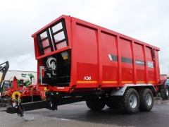 Hi Spec Compactor Trailer K36 22ft