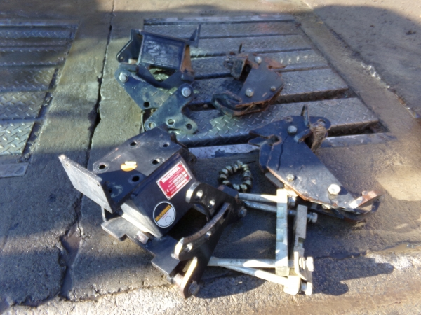 Mcconnel axle brackets and latches