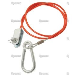CABLE-TRAILER EMERGENCY BRAKE
