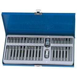 "40 Piece 3/8, 1/2"" Sq. Dr. Mechanic's bit set"
