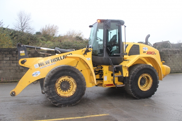 Newholland W190C 2012 Loader .