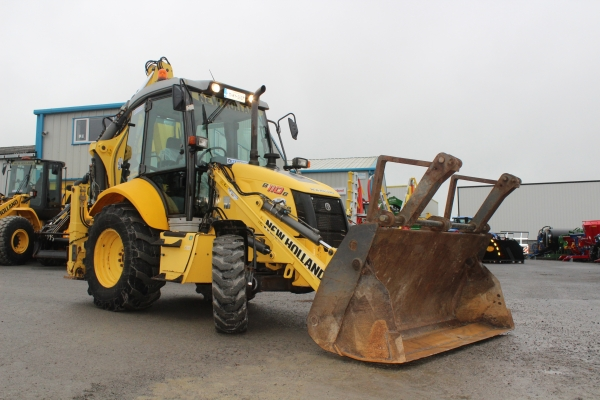 Newholland B110B Backhoe 2011