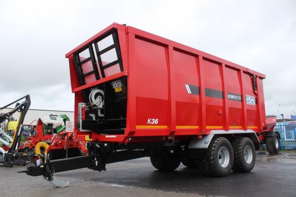 Hi Spec Compactor Trailer K36 22ft
